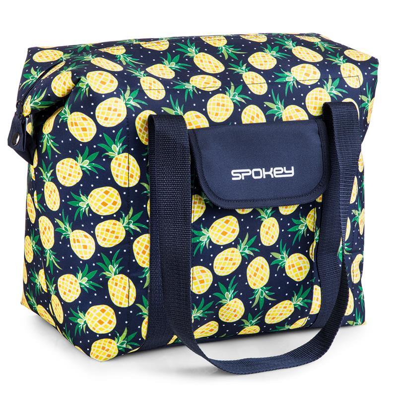 SPOKEY - SAN REMO Termo taška, vzor - ananás, 52 x 20 x 40 cm