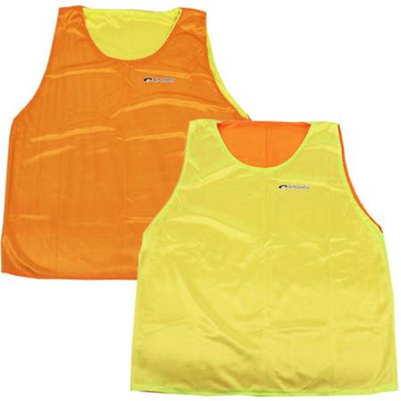 SPOKEY - SHINY D-Vesta žltá / oranžová rozlišovacia Obojstranná XL