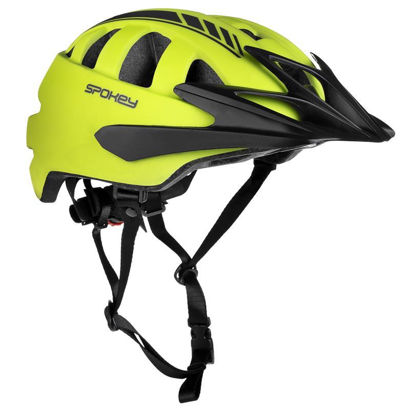 SPOKEY - SPEED Cyklistická prilba pre dospelých, 55-58 cm, žltá