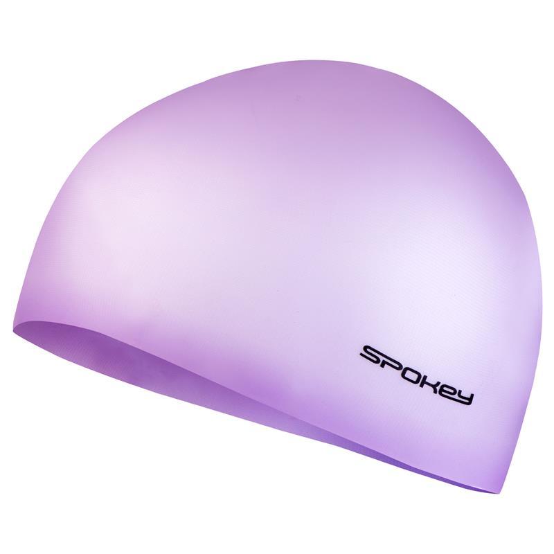 SPOKEY - SUMMER-Plavecká čiapka silikónová ružová