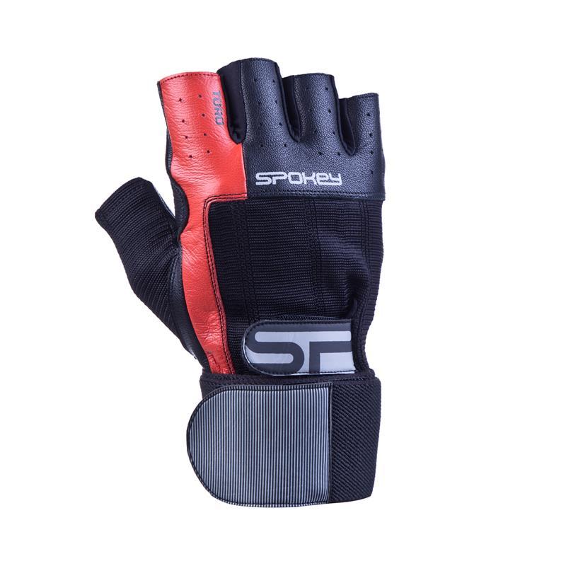 SPOKEY - TORO II fitness rukavice vel.L čierno-červené