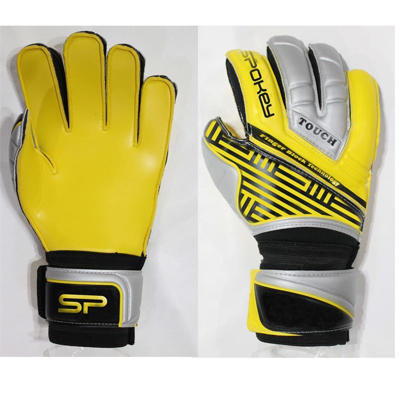 SPOKEY - TOUCH PRO Brankárske rukavice žlté rozmer 8