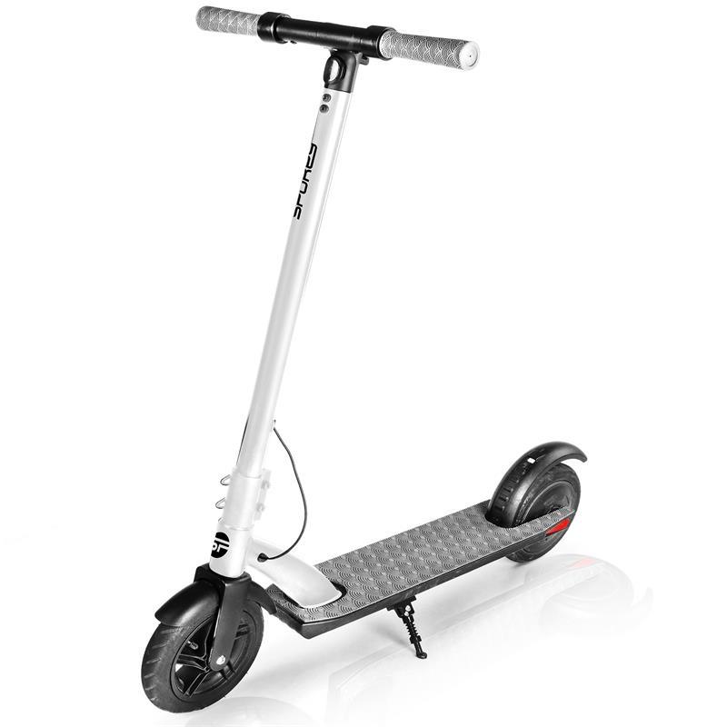SPOKEY - VENOM Elektrická kolobežka čierno-biela, kolieska 9,5 ', do 100 kg