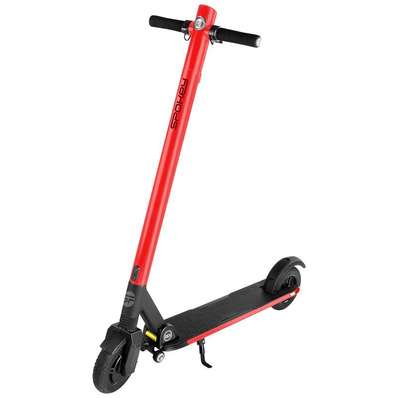 SPOKEY - VOLVER Elektrická kolobežka červená, kolieska 8 ', batéria 7,8 Ah, do 120 kg