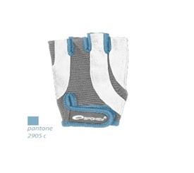 SPOKEY - ZOE Dámské Fitness rukavice bielo - šedé vel. L