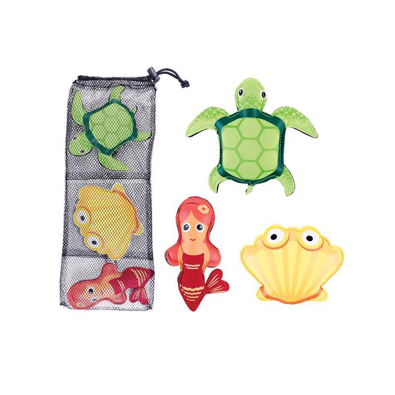 SPOKEY - ZOO 1 Hračky na potápanie - koritnačka, mušla,morská panna