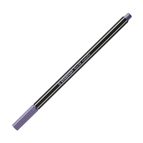 STABILO - Fixa Pen 68 metalická fialová