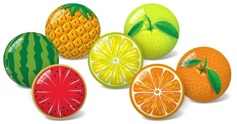 STAR TOYS - Lopta ovocie 11cm