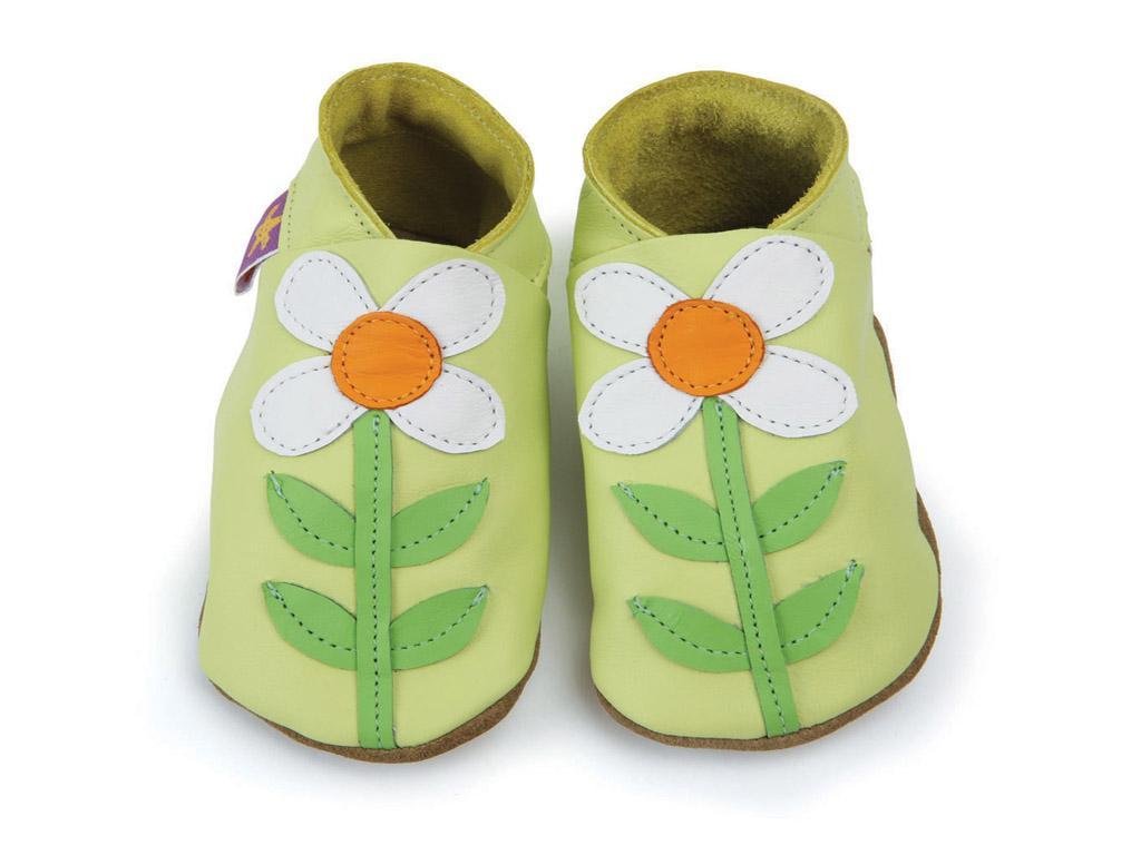 STARCHILD - Kožené topánočky - Carmina Lemon - veľkosť M (6-12 mesiacov)