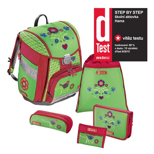 STEP BY STEP - Školská taška - 5-dielny set, Step by Step Touch, Country Flower