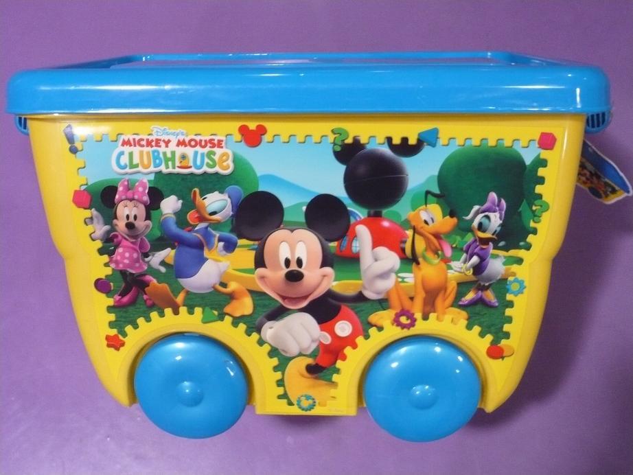STOR - Kontajner na kolieskach Mickey Mouse