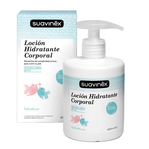 SUAVINEX - Hydratačná masážna emulzia - 400 ml