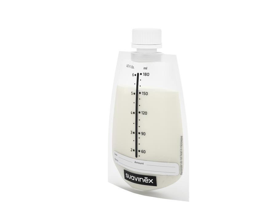SUAVINEX - Sáčky pre skladovanie m.mlieka ZERO 20ks