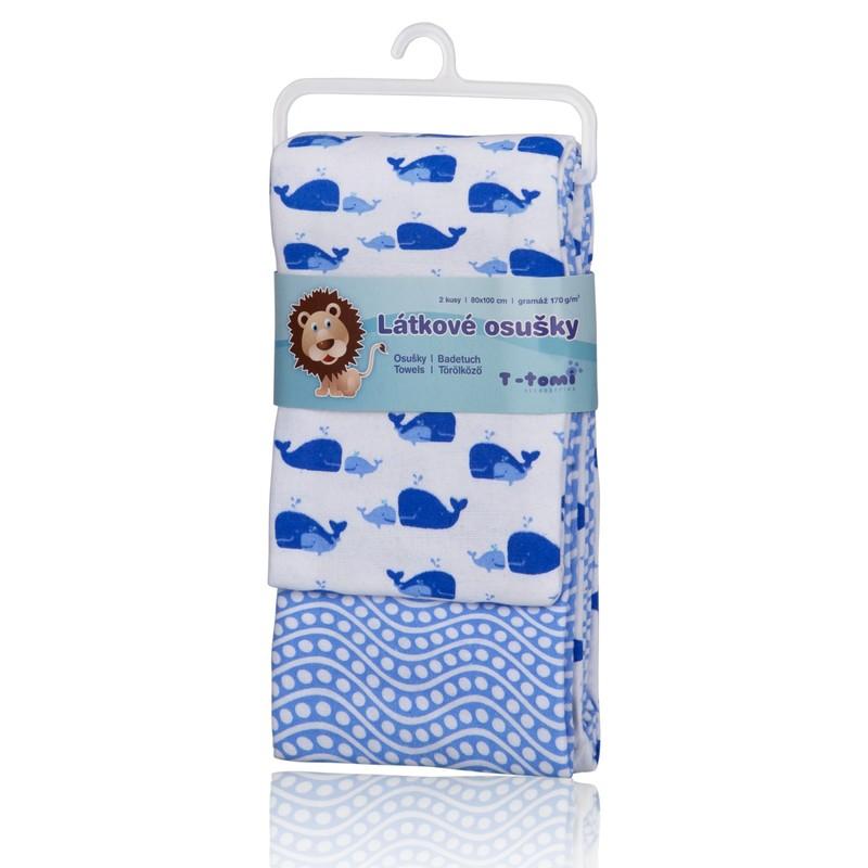 T-TOMI - Látkové osušky, blue ocean