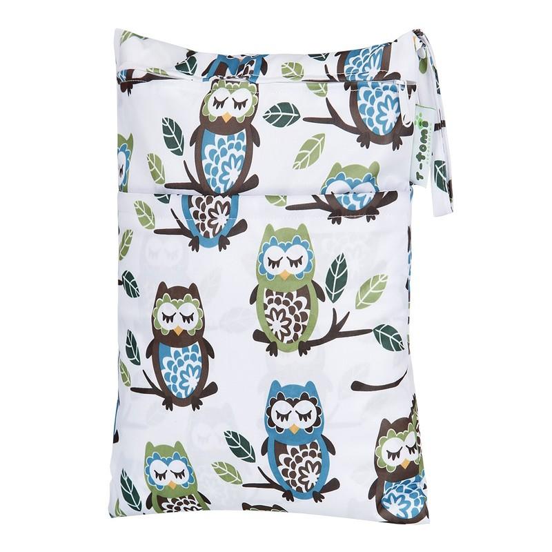 T-TOMI - Nepremokavý sáčok, white owl