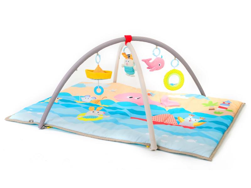 TAF TOYS - Hracia deka s hrazdou More