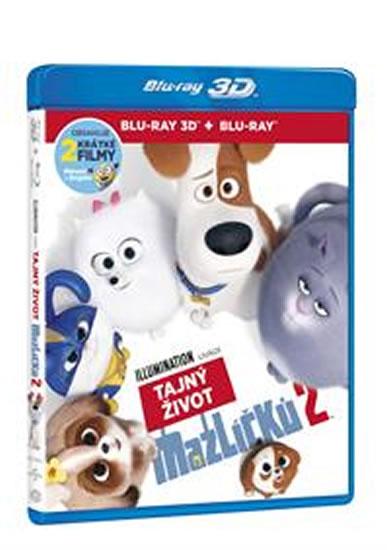 Tajný život mazlíčků 2 2 Blu-ray (3D+2D)