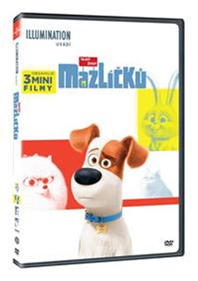 Tajný život mazlíčků DVD