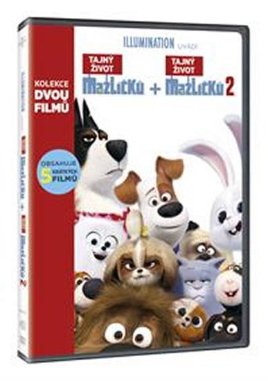 Tajný život mazlíčků kolekce 2 DVD
