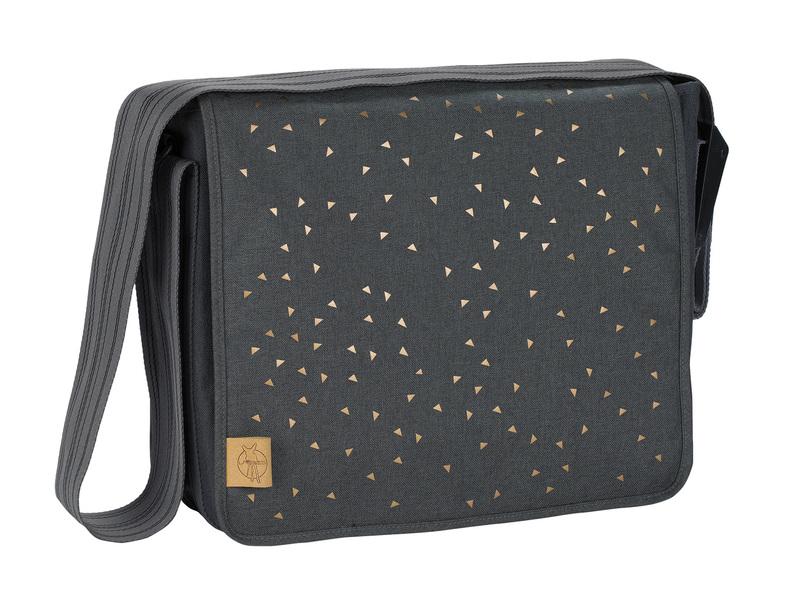 LÄSSIG - Taška na rukoväť Casual Messenger Bag - Triangle dark grey