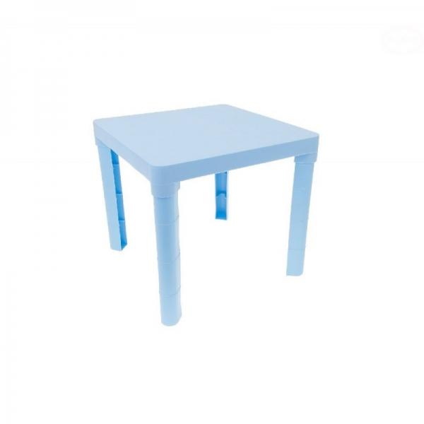 TEGA BABY - detský plastový stôl - modrý