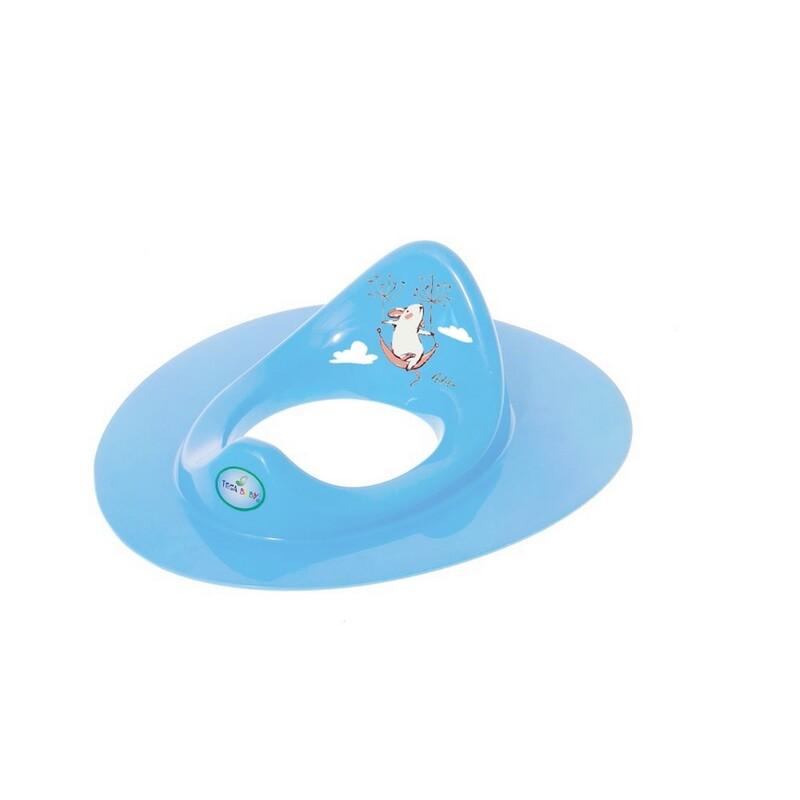 TEGA - Detské sedátko na WC myška modré