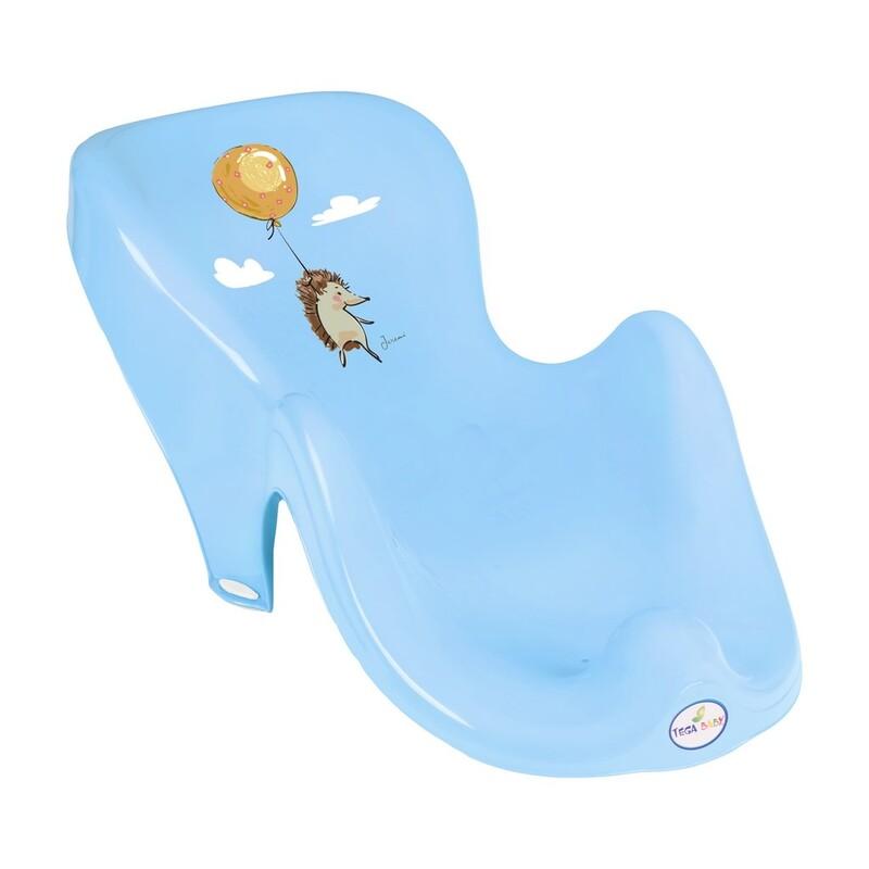 TEGA - Lehátko na kúpanie ježko modré