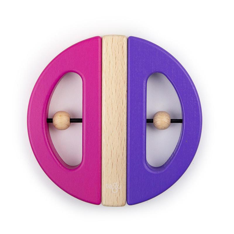 TEGU - Magnetická hračka Chrobák fialová/ružová