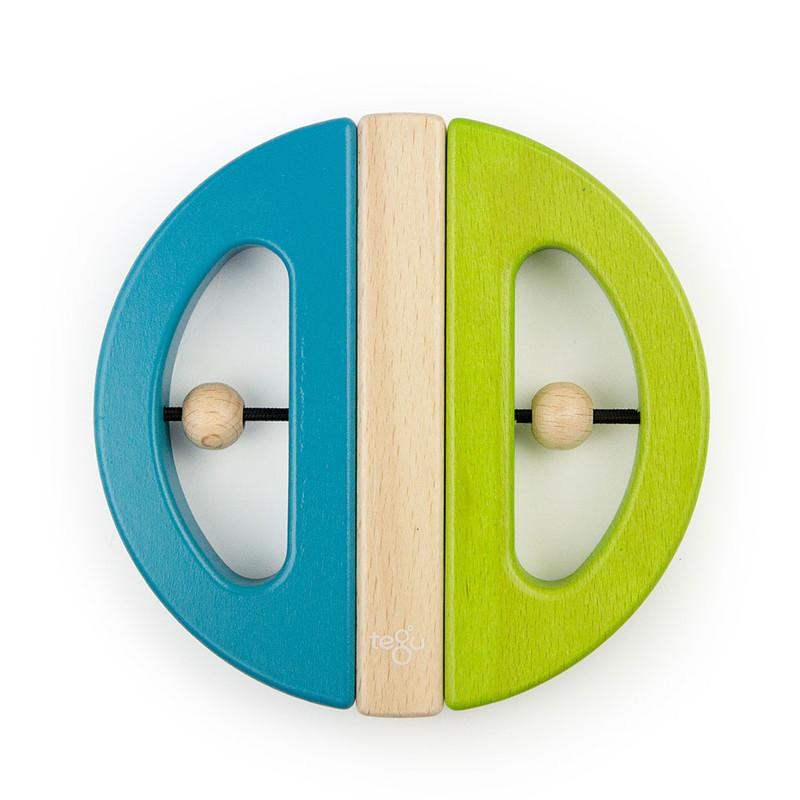 TEGU - Magnetická hračka Chrobák zelená/tyrkys