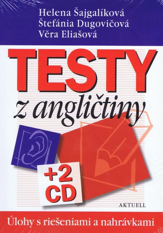 Testy z angličtiny, úlohy s riešeniami a nahrávkami + 2CD - Kolektív autorov