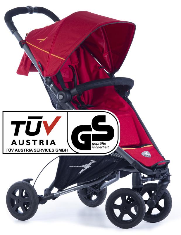 TFK - športový kočík Dot 2 Tango Red T-DOT-19-345