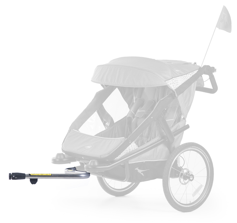 TFK - úchyt ku kočíku Joggster Velo, stroller hinge bicykle clutch T-006-Velo