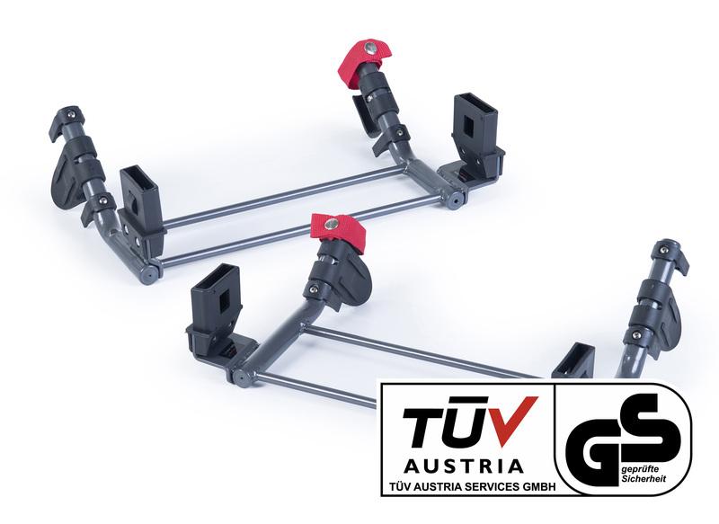 TFK - Základne pre dva adaptéry na dve autosedačky skupiny 0 adaptér group 0 for TWA set T-006-GO-TWA-2