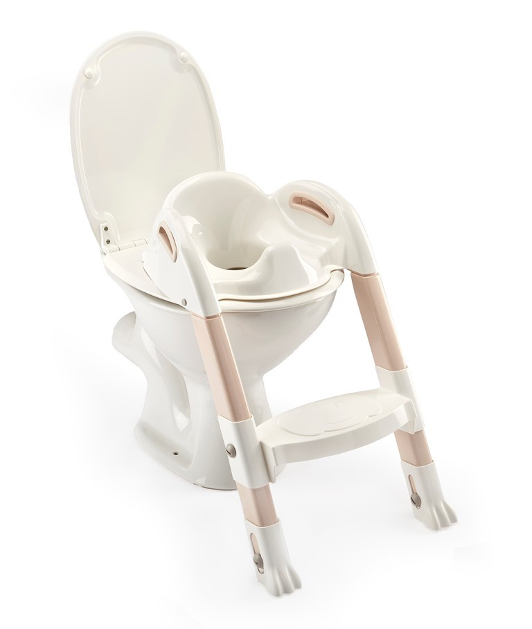THERMOBABY - Stolička na WC Kiddyloo, Off White