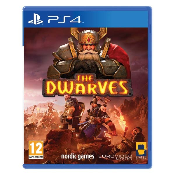 THQ NORDIC - PS4 The Dwarves, RPG hra pre PlayStation 4