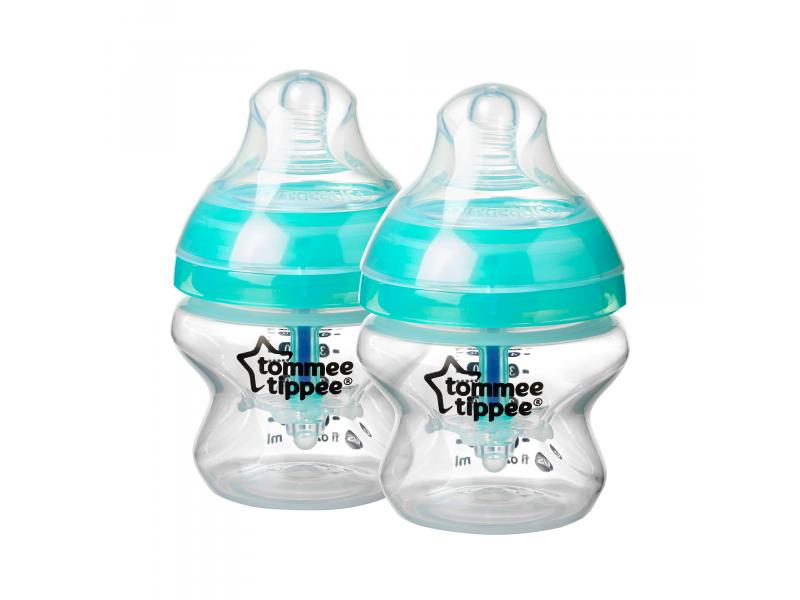 TOMMEE TIPPEE - Dojčenská fľaša Advanced Anti-Colic 2ks 150ml 0m +