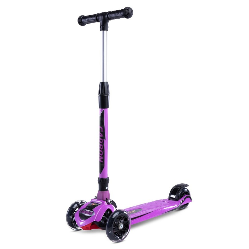 TOYZ - Detská kolobežka Carbon purple