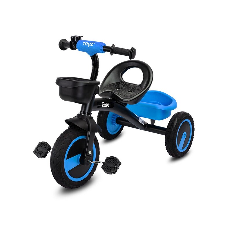 TOYZ - Detská trojkolka Embo blue
