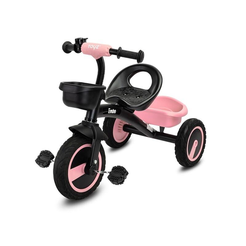 TOYZ - Detská trojkolka Embo pink