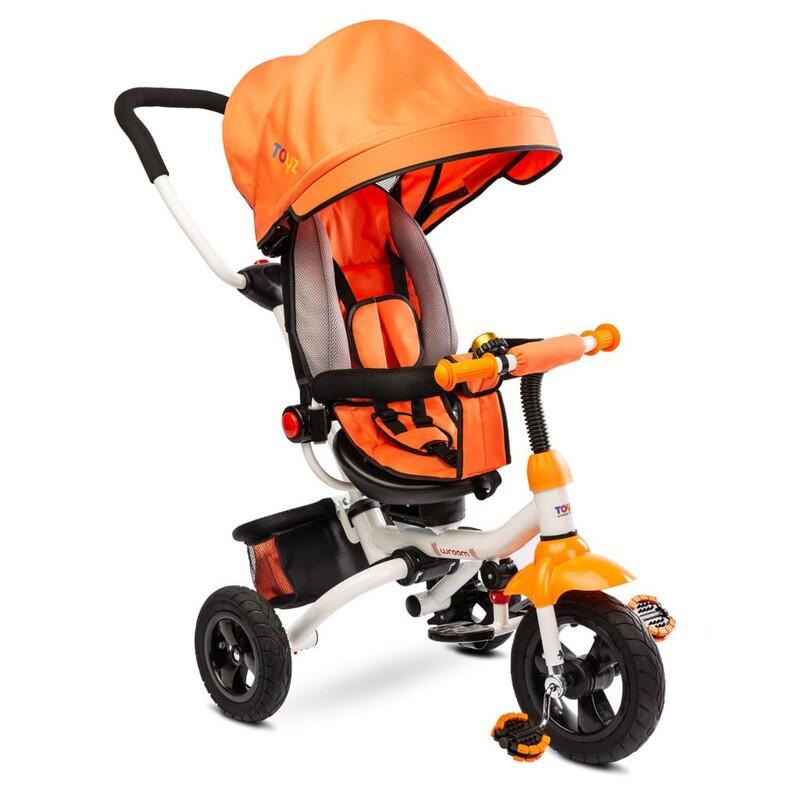 TOYZ - Detská trojkolka WROOM orange 2019