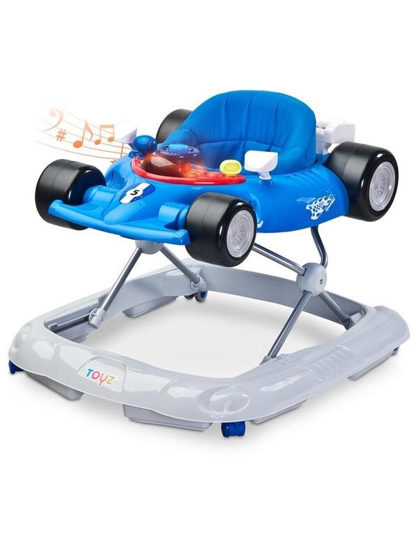 TOYZ - Detské chodítko Speeder blue