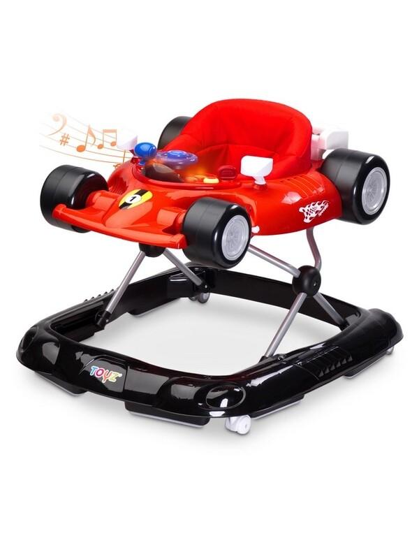 TOYZ - Detské chodítko Speeder red