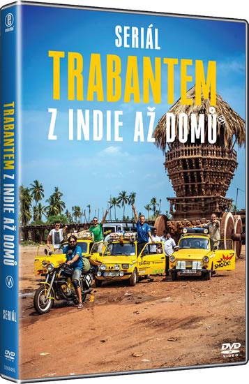 Trabantem z Indie až domů (2 DVD)
