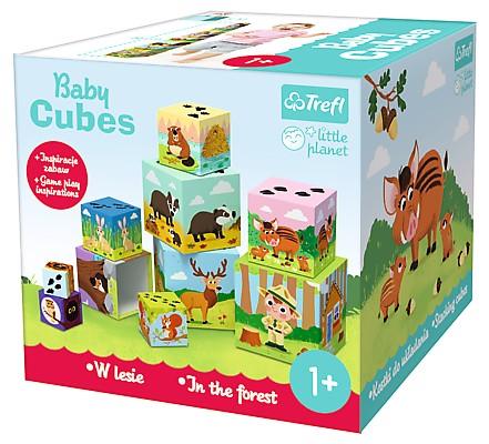 TREFL - Baby kocky pyramída V lese