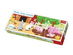 TREFL - Baby Long Puzzle Farma