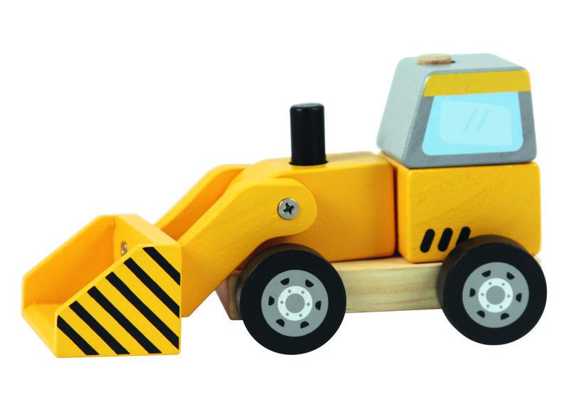 TREFL - Drevená hračka Bager