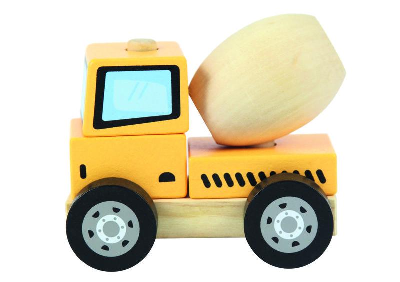 TREFL - Drevená hračka Domiešavač