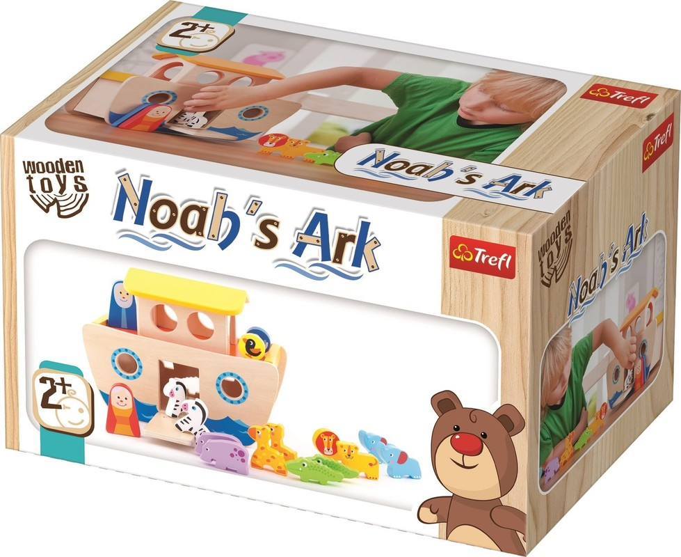 TREFL - Drevená hračka Noemova archa