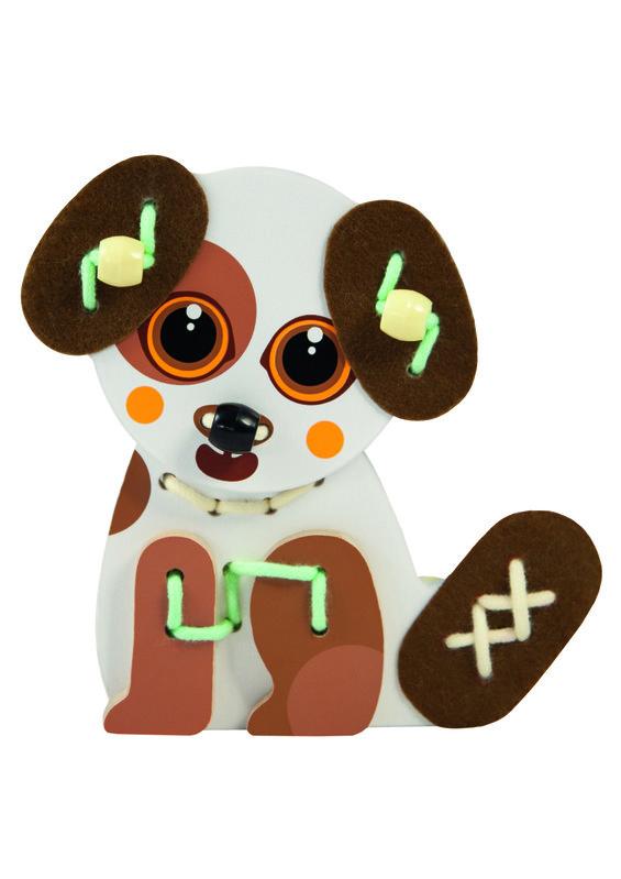 TREFL - Drevená hračka Pes Papi