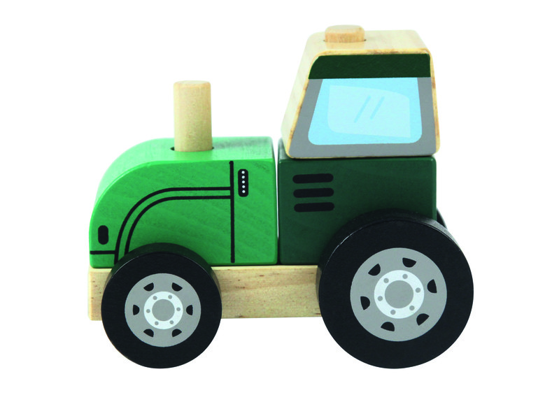 TREFL - Drevená hračka Traktor